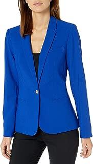 Calvin Klein Women's Lux One Button Jacket