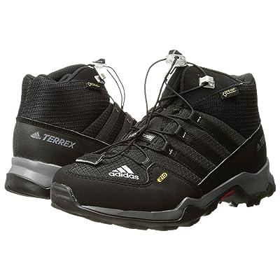 adidas Outdoor Kids Terrex Mid GTX (Little Kid/Big Kid) (Black/Black/Vista Grey) Kids Shoes