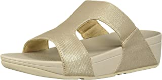 FitFlop Womens N70 H-bar Shimmerlizard