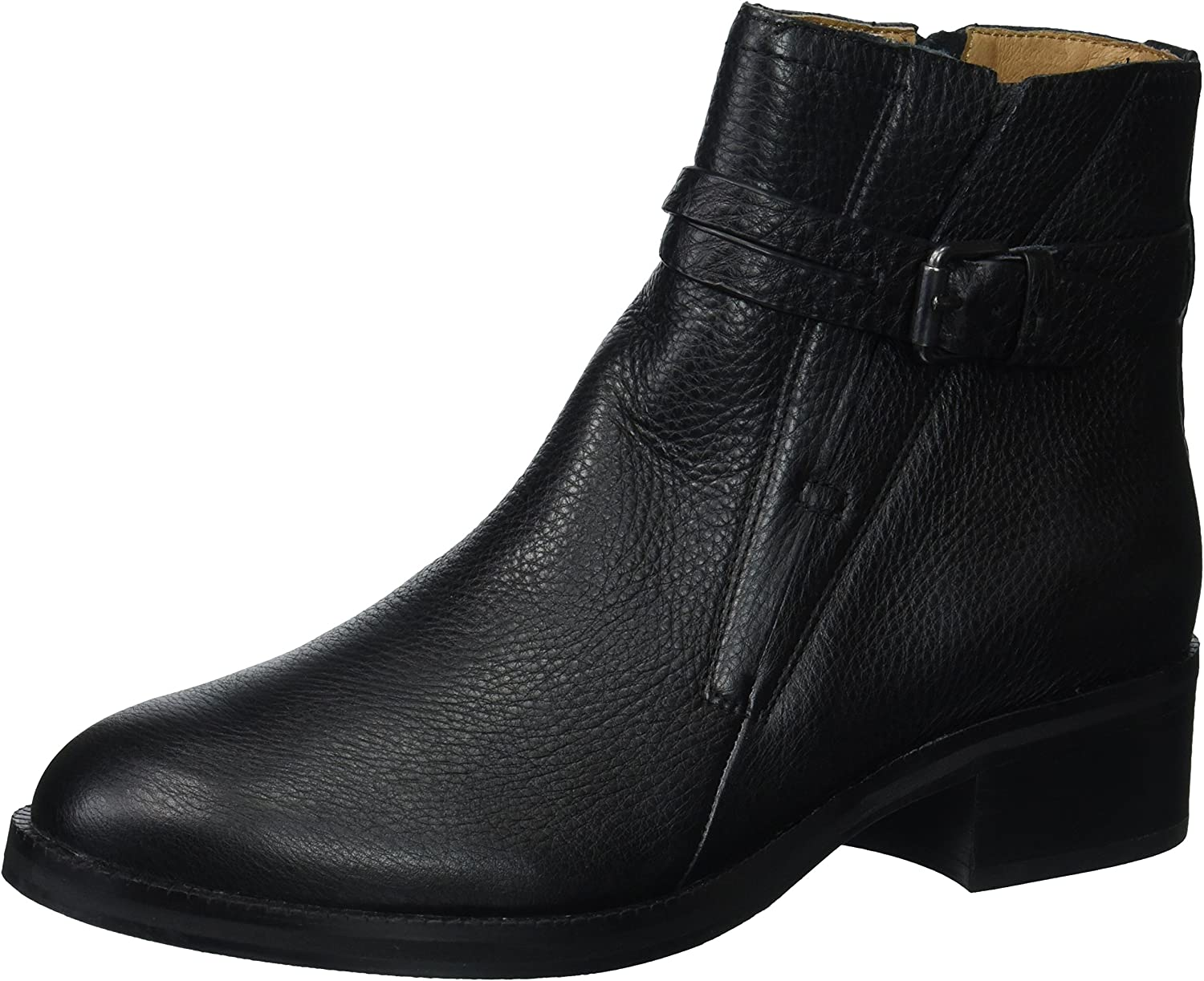 Gentle Souls Women's Percy Bootie with Buckle Detail Ankle Boot