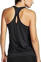 SYROKAN - Camiseta Deportiva de Tirantes para Mujer