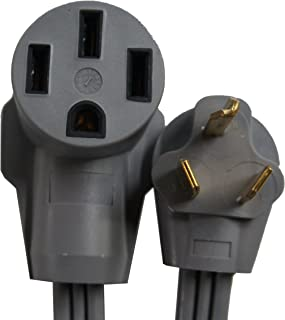 Gomadic Electric Vehicle NEMA 14-50 to NEMA 10-30P Outlet Adapter Cable - Perfect for Tesla and EV Cars