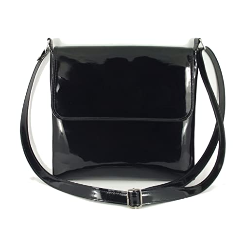 8e50838d39f0d LONI Cool Patent Cross-Body Shoulder Bag