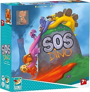 LOKI D SOS Dino Cooperative Board Game, Multicolour