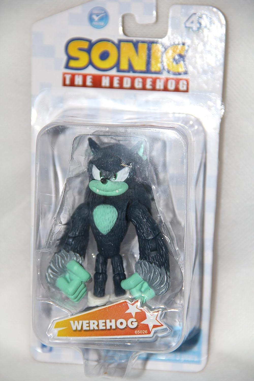 Sonic the Hedgehog Werehog 3.5  Plastic Action Figure by Jazwares