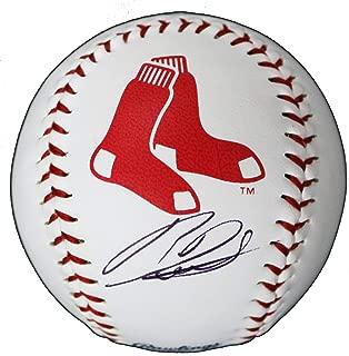 Rafael Devers Boston Red Sox Signed Autographed Rawlings Official Major League Logo Baseball COA
