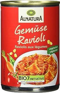 Alnatura Bio Gemüse-Ravioli, vegan, 6er Pack 6 x 400 g