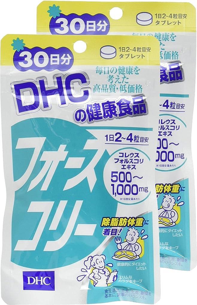 地中海フットボール粘液DHC フォースコリー 30日分 120粒 ×2個セット