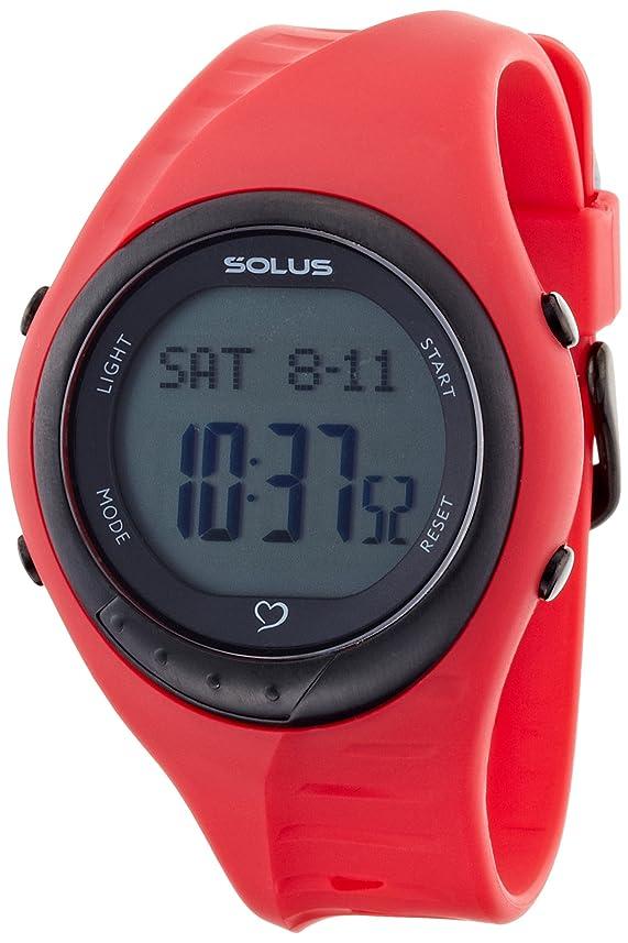 熟達きらめく放課後[ソーラス]SOLUS 腕時計 Team Sports 300 チームスポーツ 300 レッド 01-300-04 [正規輸入品]