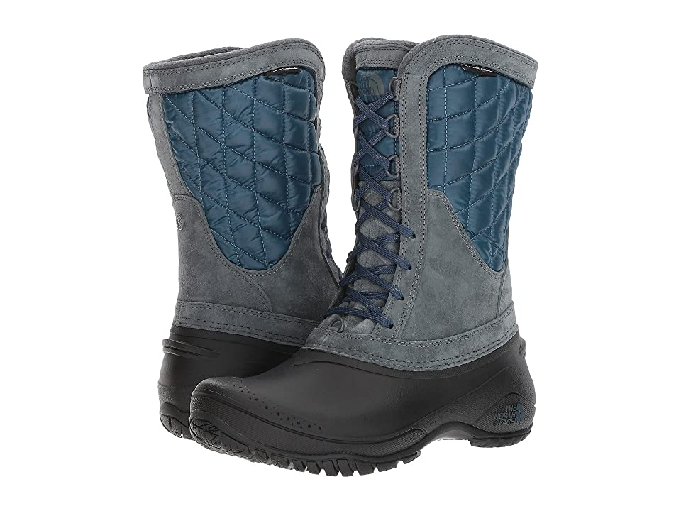 The North Face ThermoBall Utility Mid (Turbulence Grey/Monterey Blue (Past Season)) Women