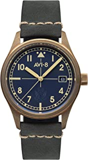 Flyboy Mens Analog Japanese Automatic Watch with Bracelet AV-4071-02