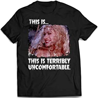 This Is Terribly Uncomfortable Sarah Quotes Hocus Pocus Squad Goals Sanderson Sisters Halloween Witches Customized T-Shirt Hoodie_Long Sleeve_Tank Top_Sweatshirt