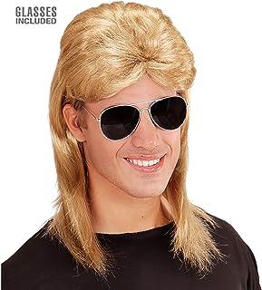 Widmann Peruka Mullet, Blond, dla Dorosłych, 10106872
