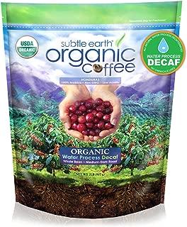 Cafe Don Pablo 2LB Subtle Earth Organic Swiss Water Process Decaf - Medium-Dark Roast - Whole Bean Coffee USDA Certified Organic,2 Pound