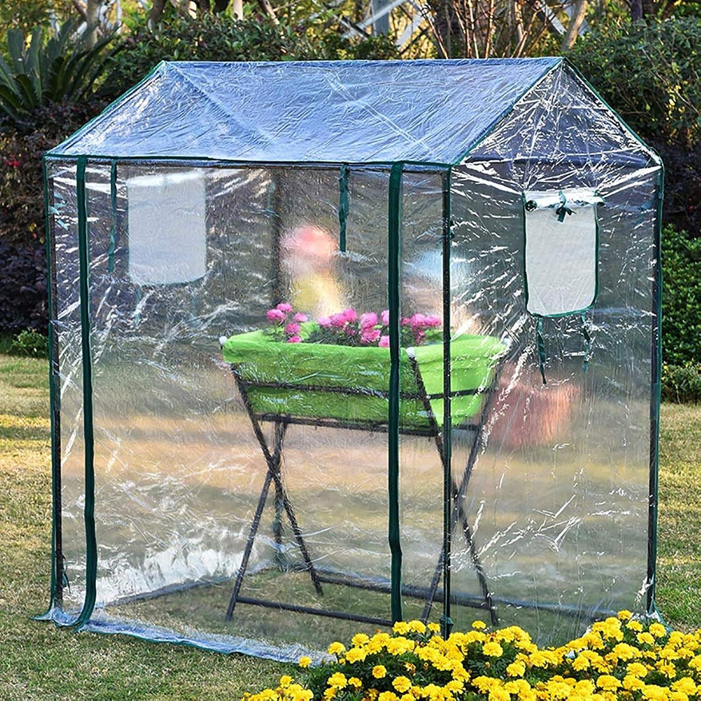 Giardino serra TWS esterno Isolamento Copertura della pioggia PVC 125 * 85 * 150CM