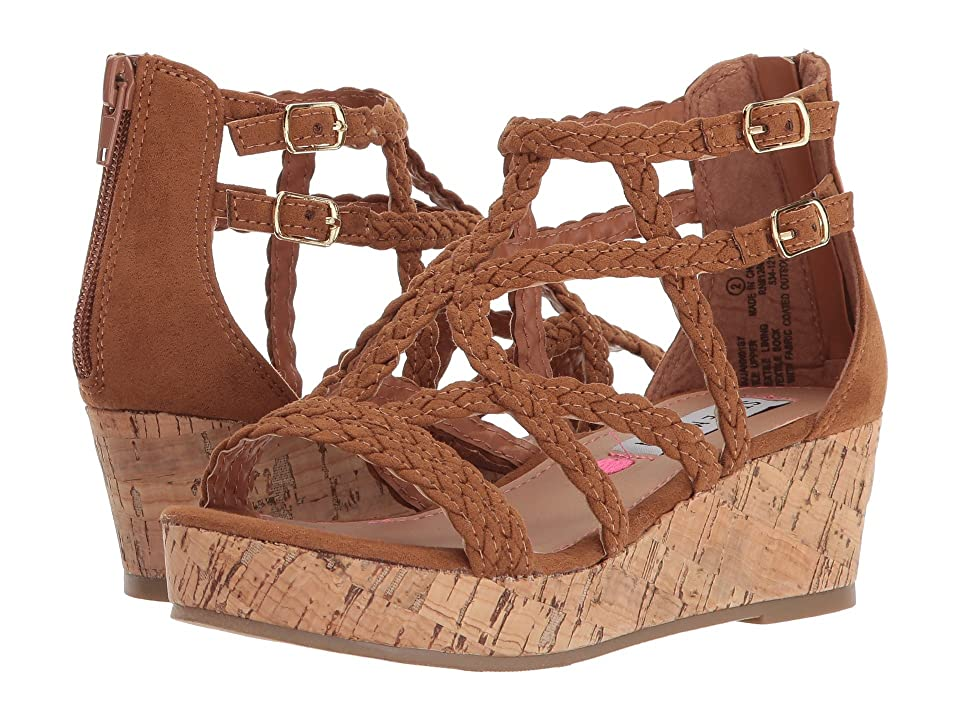 Steve Madden Kids Janna (Little Kid/Big Kid) (Cognac) Girl