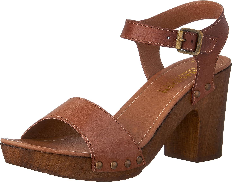 Kenneth Cole Reaction Women's Log Set Chunky Heel Sandal