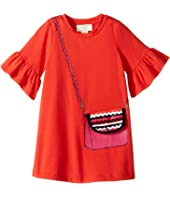Kate Spade New York Kids - Trompe L'Oeil Bag Dress (Toddler/Little Kids)