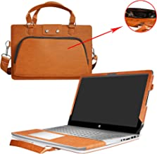 ENVY 13 Case,2 in 1 Accurately Designed Protective PU Leather Cover + Portable Carrying Bag For 13.3