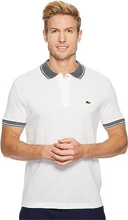Short Sleeve Petit Pique Collar/Sleeve Contrast Regular