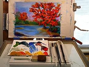 Landscape Acrylics Painting 102