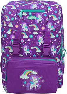 Smily kiddos | Smily Fancy Backpack (Purple) | Travel Backpack for kids | Backpack for Boys & Girls | Girls Stylish Bag | ...