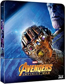 Avengers Infinity War: Steelbook, 3D and 2D Blu-ray combo