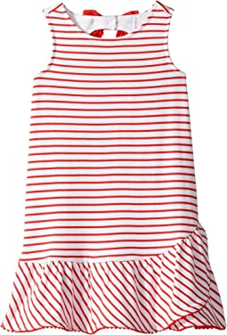 Janie and Jack Open Bow Back Dress (Toddler/Little Kids/Big Kids)