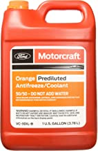 Ford Genuine Fluid VC-3DIL-B Orange Pre-Diluted Antifreeze/Coolant - 1 Gallon
