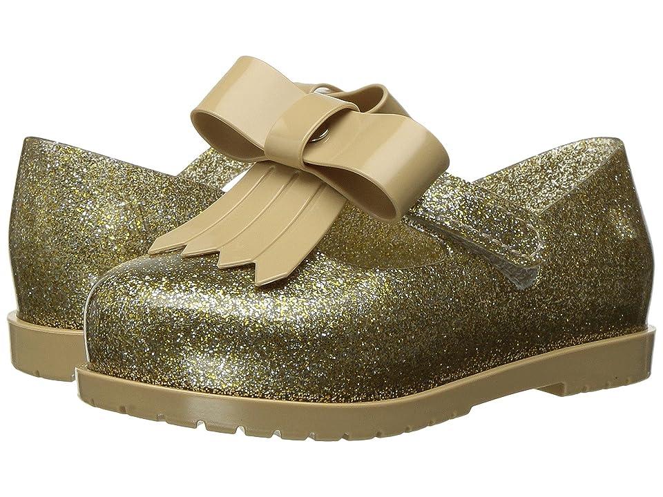 Mini Melissa Mini Classic Baby II (Toddler/Little Kid) (Gold Glitter/Glitter) Girl