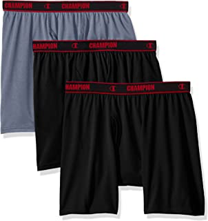 Champion Men's 3-Pack Active Performance Boxer Brief
