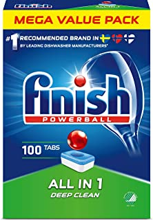 Finish Powerball All in 1 Maskindiskmedel 100 st