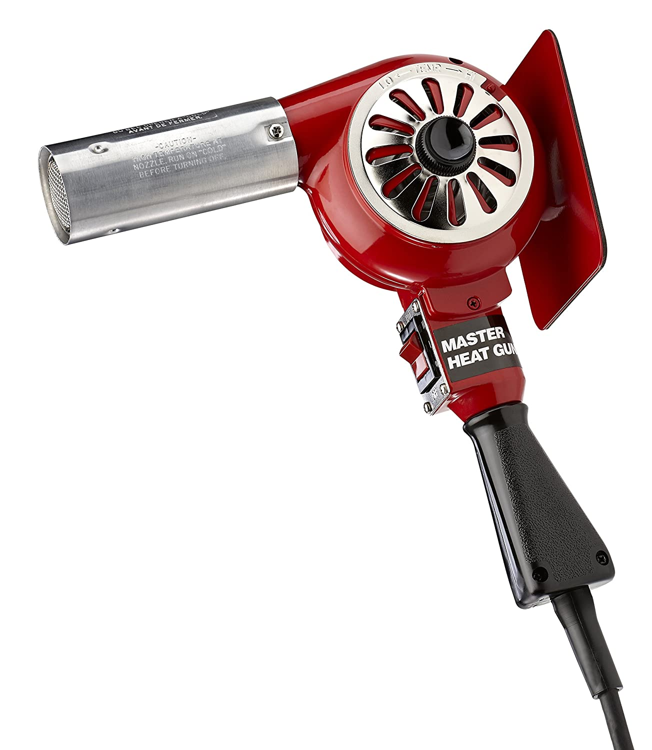 Master Appliance HG-201A Professional Heavy Duty Heat Gun, 300 Degree Fahrenheit 120V 600 Watts