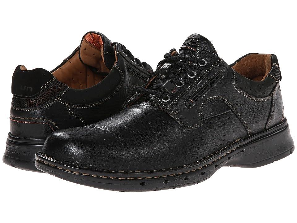 Clarks Un.ravel (Black Leather) Men