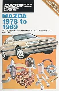 Chilton Book Company Repair Manual: Mazda, 1978 to 1989--All U.S. and Canadian Models of RX-7, GLC, 323, 626, 929, MX-6, MPV (Haynes Repair Manuals)