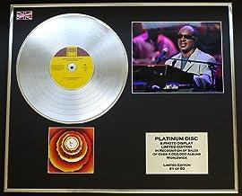 STEVIE WONDER/CD platinum disc & Foto Display/Edicion Limitada/
