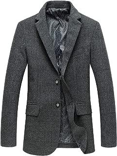 grey harris tweed suit