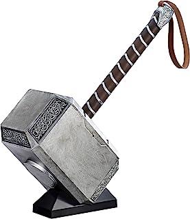 Avengers Marvel Legends Series Mjolnir Electronic Hammer, Grey