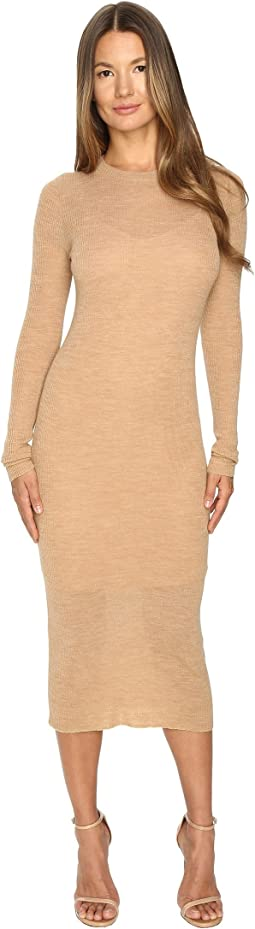 Cashmere In Love - Tiera Fine Knit Featherweight Dress