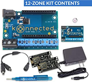 Konnected Alarm Panel Wired Alarm System Conversion kit (12 Zone Kit)