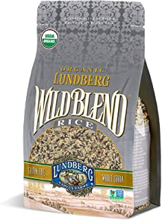 Lundberg Organic Wild Blend Rice, 2lb (6 count), Gluten-Free, Non-GMO Project Verified, USDA Certified Organic, Vegan, Kos...
