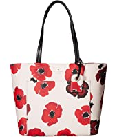 Kate Spade New York - Hyde Lane Poppies Small Riley