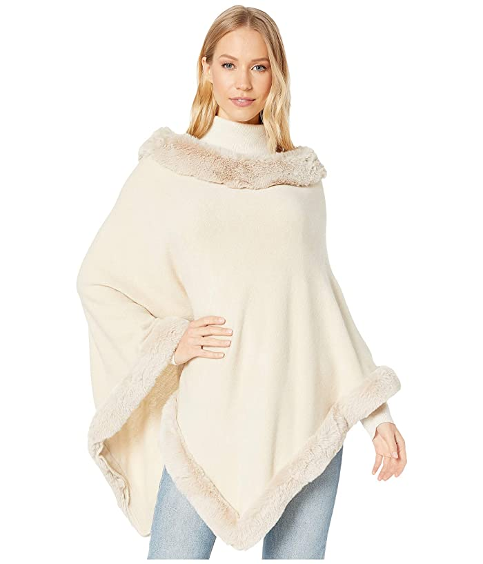 Victorian Capelet, Cape, Cloak, Shawl, Muff Love Token Kendra Poncho Beige Womens Clothing $135.00 AT vintagedancer.com