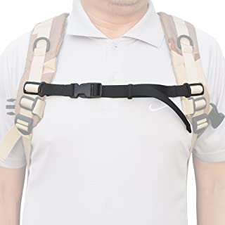 YYST ONE Nylon Webbing Sternum Strap Backpack Chest Harness for 1
