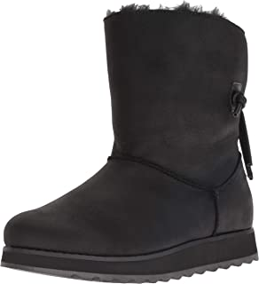 Skechers Womens 44932 Keepsakes 2.0 - Mid Pull on Boot with Back Tie