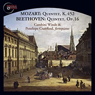Mozart / Beethoven - Quintet in E Flat Major, K. 452 / Quintet in E Flat Major, op. 16