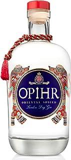 Opihr Oriental Spiced Gin, 42,5% vol., exotischer Gin mit Kräutern und Gewürzen aus dem Orient, von Englands ältestem Hersteller für Gin seit 1761, 1 x 0.7l