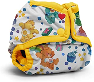 Kanga Care Rumparooz Newborn Cloth Diaper Cover Snap - Care Bear Birthday (4-15 lbs)