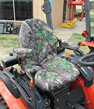 Durafit Seat Covers, KU25 Kubota Seat Covers for Tractor B2301 in HTC Camo