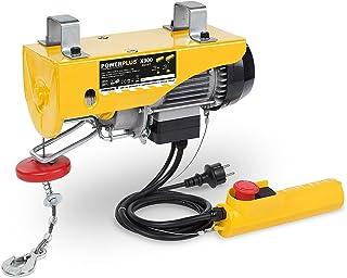 comprar comparacion POWERPLUS POWX902 - Polipasto 1050w 300/600 kg